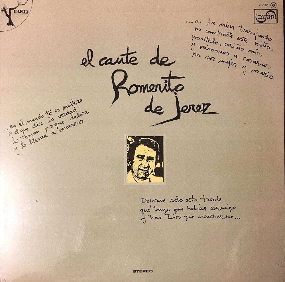 El Cante de Romerito de Jerez (vinyl)