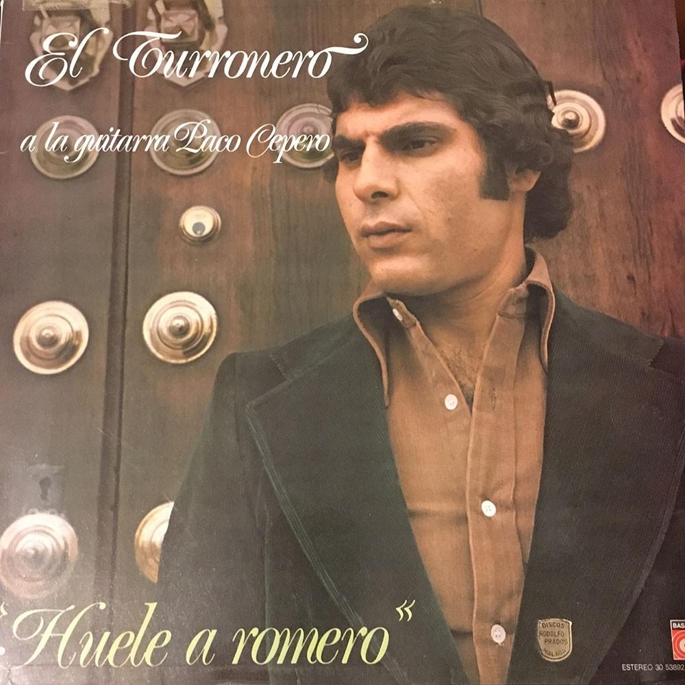El Turronero a la guitarra Paco Cepero (vinilo)