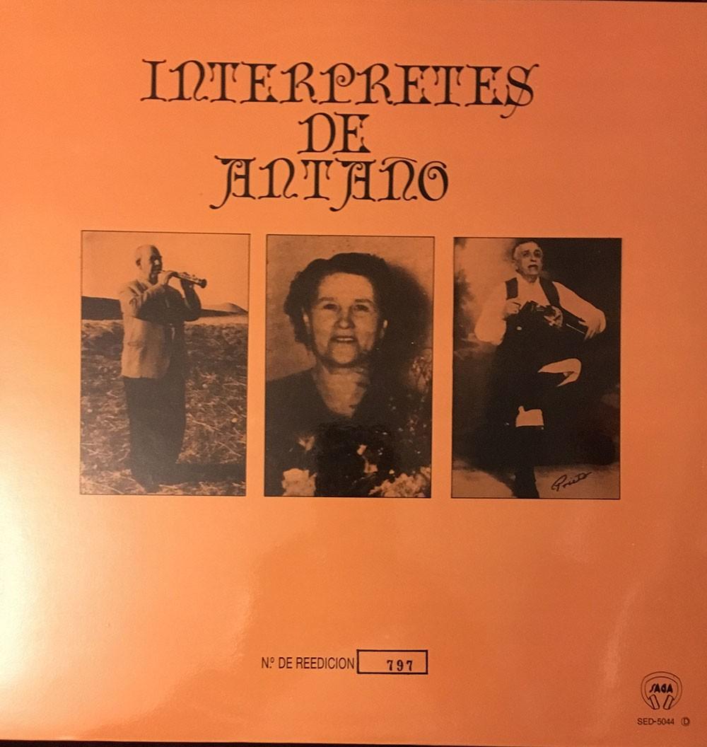 Intérpretes de Antaño (vinilo) – VV.AA.