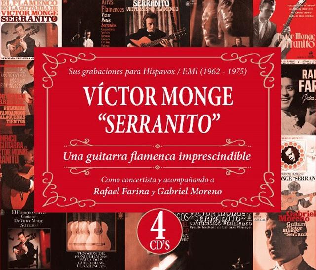 Una guitarra flamenca imprescindible (4CDs) – Victor Monge Serranito