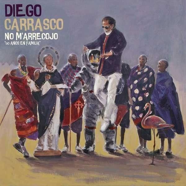 No M'arrecojo. 50 Años En Familia (2 CD) – Diego Carrasco
