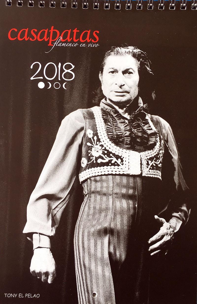 Calendario Flamenco Casa Patas 2018 – Fotos: Martin Guerrero