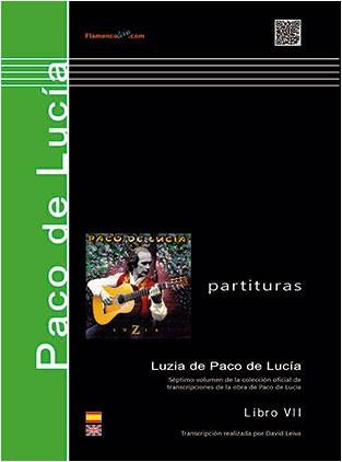 Luzia (partituras) – Paco de Lucía / Transcripción David Leiva