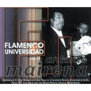Antonio Mairena – Flamenco y universidad Vol 2 (CD)