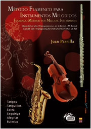 Juan Parrilla –  Método Flamenco para Instrumentos Melódicos