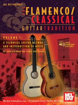 Juan Serrano & Corey Whitehead –  Libro + Descargas online 'Método de Guitarra Flamenca/clásica