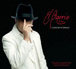 El Barrio –  La voz de mi silencio. Tour 08. DVD