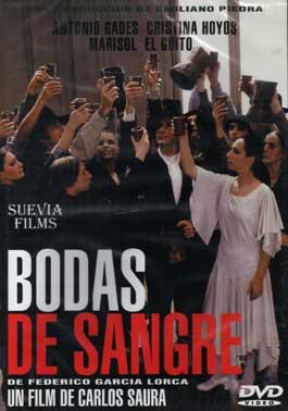 Carlos Saura / Antonio Gades –  Bodas de Sangre – DVD