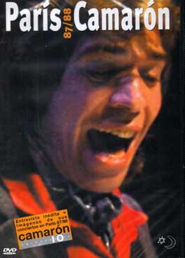 Camarón de la Isla –  París 87/88 CAMARÓN. DVD.