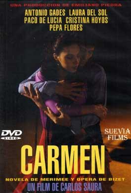 Carlos Saura y Antonio Gades –  Carmen. DVD