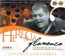 Herencia Flamenca –  Jovenes cantaores. Manuel Zambullo, Juan manuel, Antonio ..