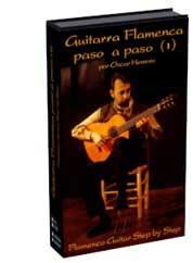 Oscar Herrero –  La Guitarra Flamenca paso a paso (I) 68 Min. DVD Multiformat