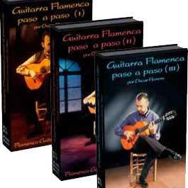 Oscar Herrero –  La Guitarra Flamenca paso a paso (I), (II) y (III). DVD Mult