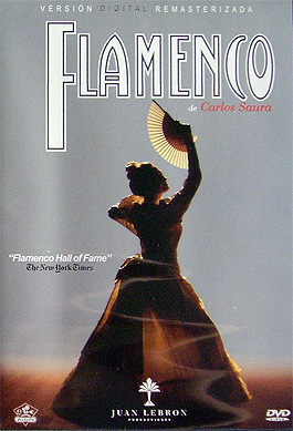 Carlos Saura –  Flamenco. DVD Pal.