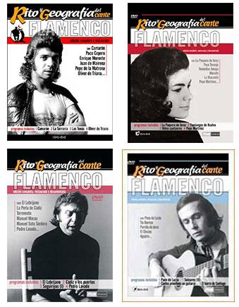 Rito y Geografía del Cante –  Pack Rito y Geografía del Cante. 4 DVDs