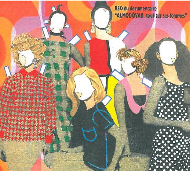 VV.AA. –  Almodóvar, tout sur ses femmes – BSO du documentaire (CD)