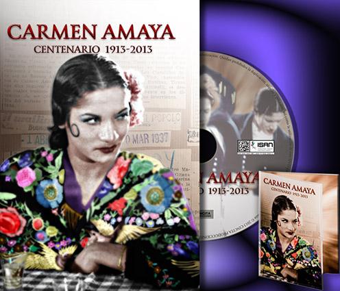 Carmen Amaya – DVD Centenario 1913-2013