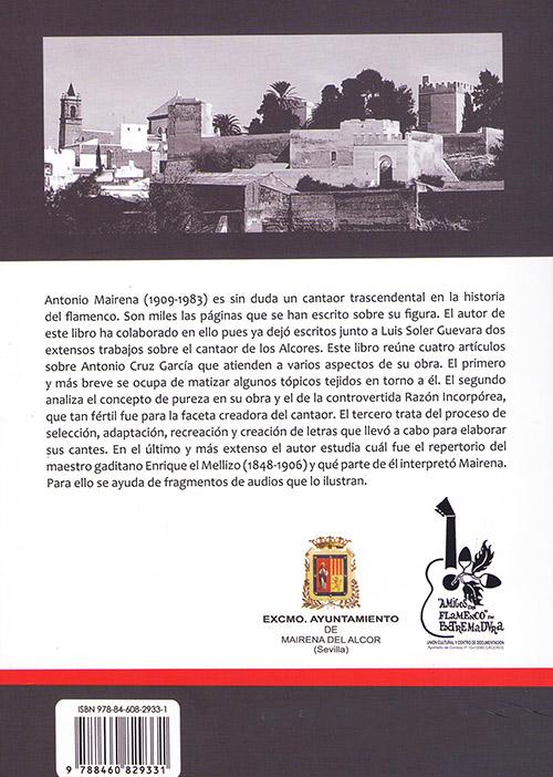 Ramón Soler –  Ramón Soler Díaz – 4 Estudios sobre Antonio Mairena (Libro)