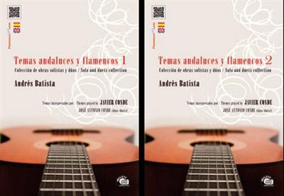 Andrés Batista / Javier Conde –  Temas Andaluces y Flamencos Vol 1&2 (2Libro/CD) – Andrés Batista