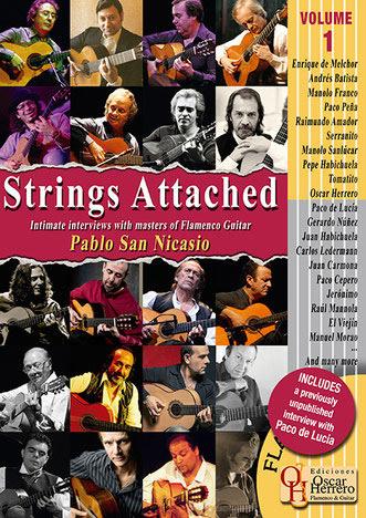 Pablo San Nicasio –  STRINGS ATTACHED (Vol.1) – Contra las cuerdas v.1 (english)