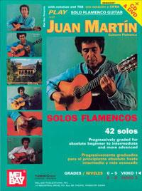 Juan Martín –  Estudios de Guitarra flamenca – Vol 1. Libro + cd + dvd