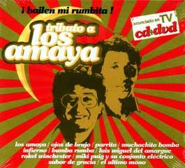 Los Amaya –  Tributo a Los Amaya CD+DVD