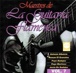 VV.AA –  Maestros De La Guitarra Flamenca Vol.7
