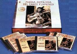Varios –  Magna Antología del Cante Flamenco. 10 CD.