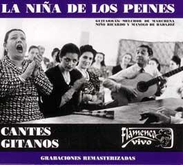 La Niña de los Peines –  Cantes gitanos.