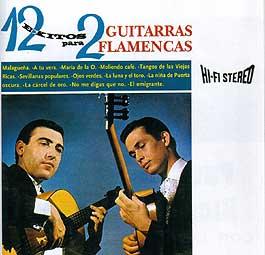 Paco de Lucía & Ricardo Modrego –  con Los 7 de Andalucía. 12 Exitos para 2 guitarras flamencas
