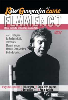Rito y Geografía del Cante V.3 –  DVD: Lebrijano, Cadiz y los puertos, Seguiriyas (I),