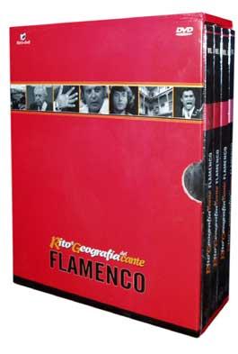 Rito y Geografía del Cante: Pack 1 –  PACK 1: Vol. 1, 2, 3 y 4. 4 DVDs-Libros