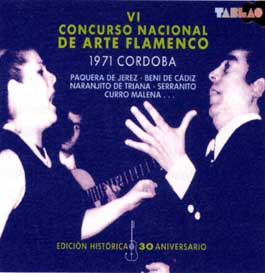 Varios –  VI Concurso Nacional de Arte Flamenco Cordoba 1971. 3 CD's