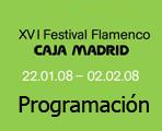XVI Festival Flamenco Caja Madrid 2008.