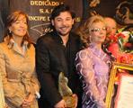 Entrega de premios a los artistas más destacados de la pasada edición