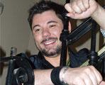 Miguel Poveda presenta su sello discográfico Carta Blanca Records.