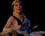 El Flamenco despide a la bailaora Blanca del Rey en el Festival del Cante de las Minas de la Unión