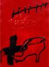 Antoni Tàpies presenta el cartel oficial de la XIII edición de la Bienal de Flamenco