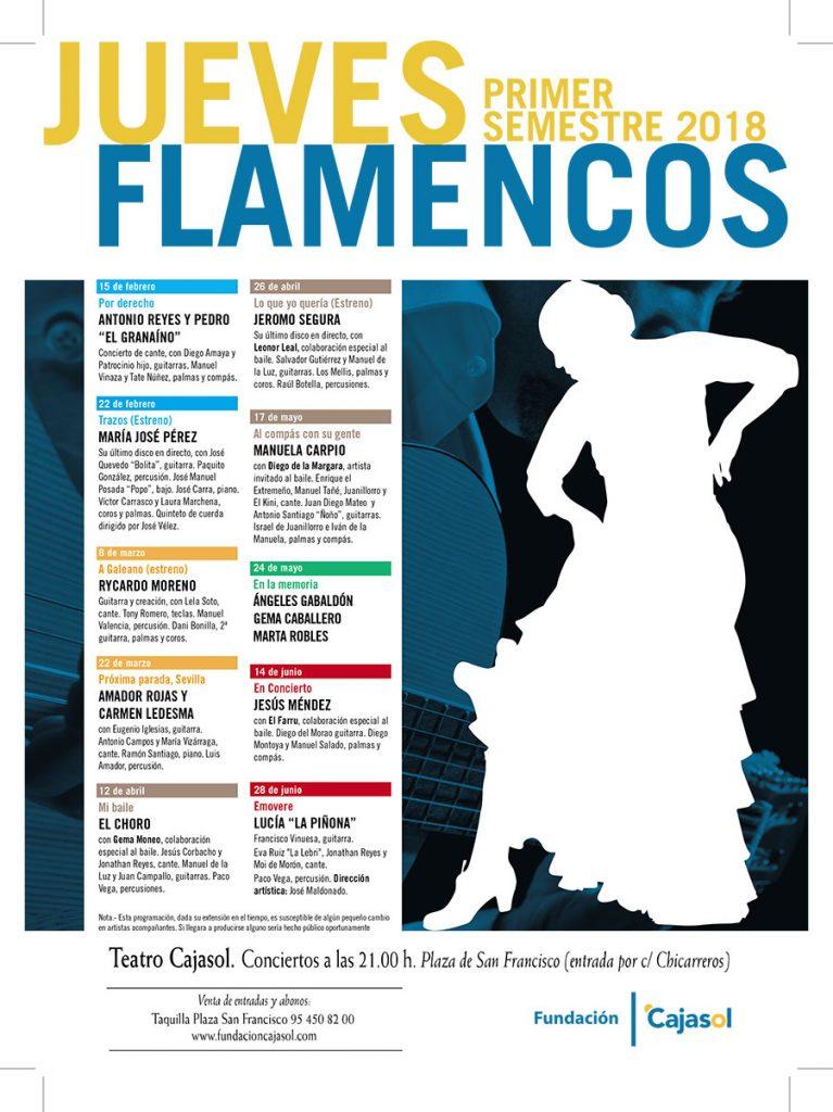 Jueves Flamencos Primavera2018