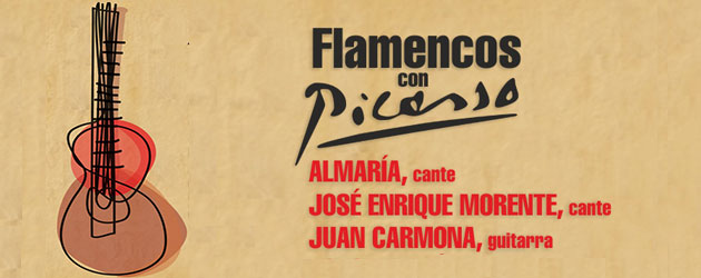 Flamencos con Picasso, con Almaría y José Enrique Morente