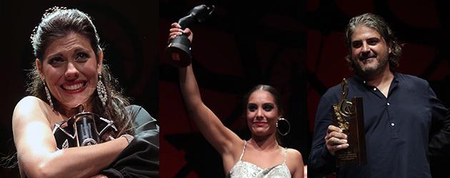 Winners of the Cante de las Minas Contest 2015