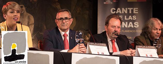 Presentation of the program of the 56th Festival Internacional del Cante de las Minas