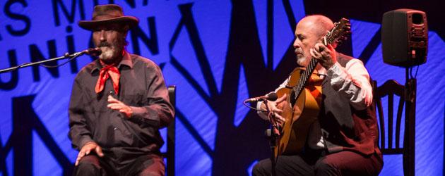 El Cabrero & Manuel Cuevas at the Cante de las Minas