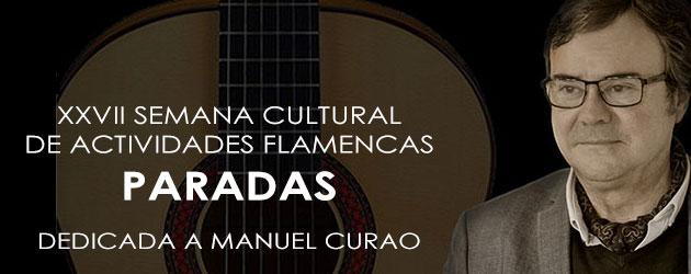 Programación de la Semana Cultural de Actividades Flamencas 2017