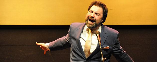 Antonio Campos en el Teatro Alhambra