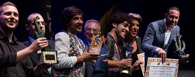 Winners of the Concurso Internacional del Cante de las Minas 2017