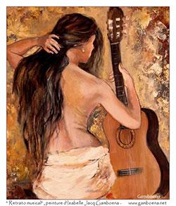Isabelle Jacq Gamboena, pintora