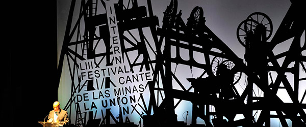 Finalistas del Festival Internacional del Cante de las Minas 2013