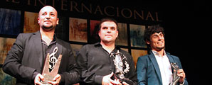 Ganadores Concurso Internacional de  Cante de las Minas de La Unión