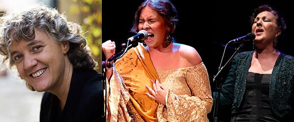 """Carmen Linares, Mayte Martín and Rocío Márquez open the series """"Andalucía Flamenca"""""""